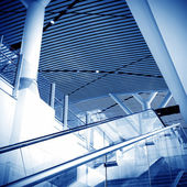 Stairs and escalators — Stock Photo