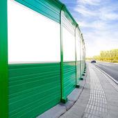 Roadside billboards — Stock Photo