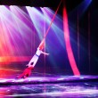 Stage acrobatics — Stock Photo