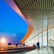 Stock Photo: Modern architecture at night