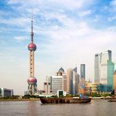 Landmark of shanghai — Stock Photo