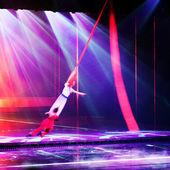 Stage acrobatics — Stock Photo