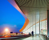 Modern architecture at night — Stock Photo