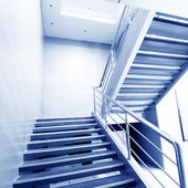 Stairs in the modern house — Stock Photo