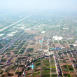 Aerial view of rural China — Photo