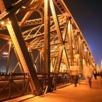 Shanghai bridge night — Stock Photo