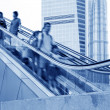 Moving escalator — Stock Photo #20355187