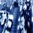 Moving escalator — Stockfoto