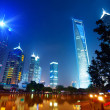 Stock Photo: Night view of shanghai