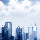 Skyscrapers in Shanghai — Stock Photo