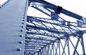 Bridge support beams — Foto Stock