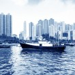 Hong Kong harbor — Stock Photo