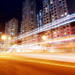 City road light trails — Stock Photo #20406413
