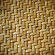 Woven Thatch Background Pattern — Stock Photo