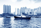 Hong Kong harbor — Stockfoto