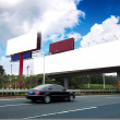 Stock Photo: Highways and billboards