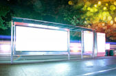 Billboard(Night) — Stockfoto