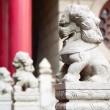 Stone lions — Stock Photo #21192711