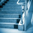 Stock Photo: Stairs in the modern house