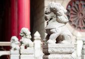 Stone lions — Stock Photo