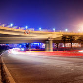Overpass Night — Stock Photo