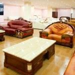Sofa store — Stock Photo