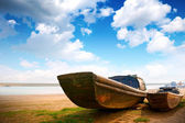 Sea boat — Stock Photo