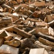Wood (for heating) — Stockfoto