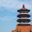 Ancient Architecture: pagoda — 图库照片