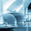 UFO (Science and Technology Museum) - Stock Photo
