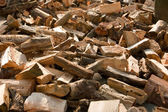 Wood (for heating) — Stock Photo