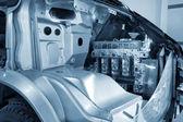 La estructura interna del motor de automóvil — Foto de Stock