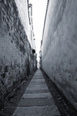Old alley in southern China — Stock Photo