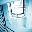 Rotation of the stairs — Stock Photo