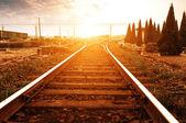 Ferroviario — Foto Stock