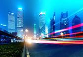 Ahora la ciudad de noche — Foto de Stock