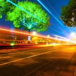 światło trasy — Zdjęcie stockowe