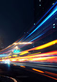 Light trails — Stock Photo