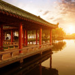 The Chinese ancient architecture — Stockfoto