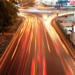 Highway light trails — Stock Photo #26555299