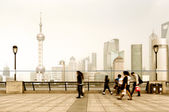 Bund in Shanghai, China — Stock Photo