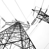 Electricity pylon — Foto de Stock