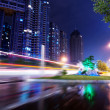 Stockfoto: Light trails