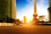 şehrin sokaklarında — Stok fotoğraf