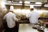 китайский шеф-повар — Стоковое фото