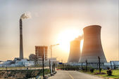 Tepelné elektrárny — Stock fotografie