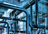 Industrial Zone pipeline — Stock Photo