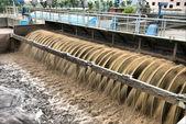 Planta de tratamiento de aguas residuales — Foto de Stock