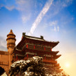 The Chinese ancient architecture — Stock Photo
