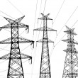 Electricity pylon — Stock Photo #26582041